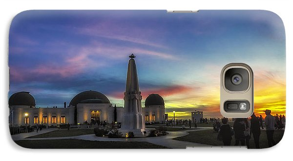 Galaxy Case featuring the photograph Griffith Observatory by Sean Foster