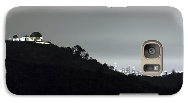 Griffith Park Observatory And Los Angeles Skyline At Night Galaxy S7 Case