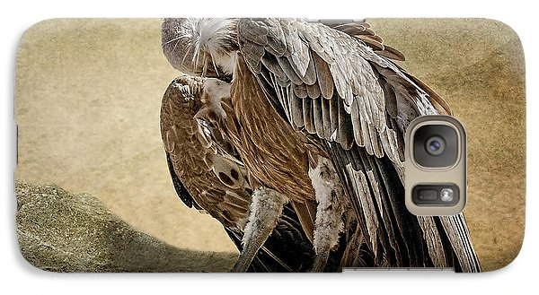Galaxy Case featuring the photograph Griffon Vulture by Brian Tarr