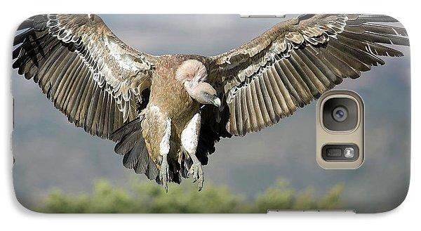 Griffon Galaxy S7 Case - Griffon Vulture Flying by Nicolas Reusens