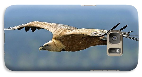 Griffon Vulture In Flight Galaxy Case by Bildagentur-online/mcphoto-schaef