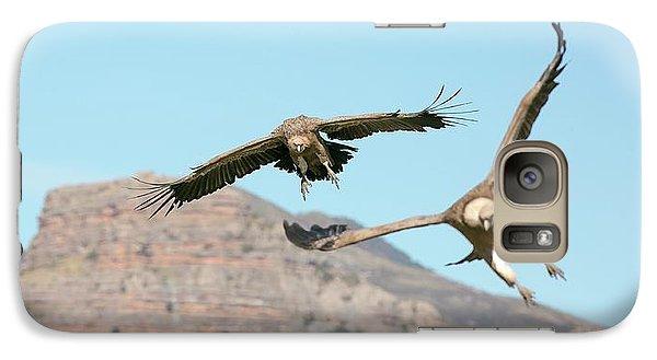Griffon Galaxy S7 Case - Griffon Vultures Flying by Nicolas Reusens