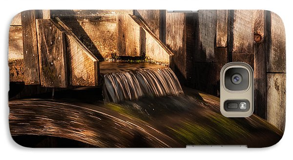 Galaxy Case featuring the photograph Grist Mill by Jay Stockhaus