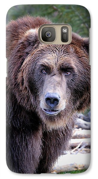 Galaxy Case featuring the photograph Grizzly by Athena Mckinzie