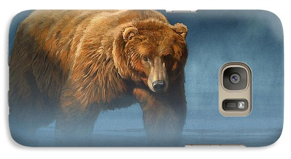 Grizzly Encounter Galaxy Case by Aaron Blaise
