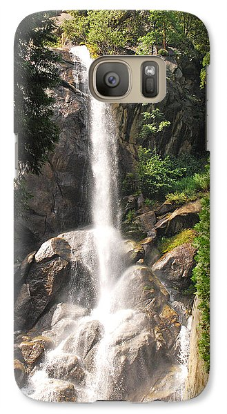 Galaxy Case featuring the photograph Grizzly Falls by Mary Carol Story