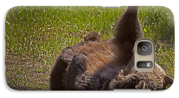 Galaxy Case featuring the photograph Grizzly by J L Woody Wooden