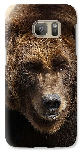 Galaxy Case featuring the photograph Grizzly by Steve McKinzie