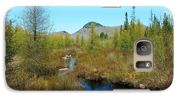 Galaxy Case featuring the photograph Groton State Forest Moose Country by Sherman Perry