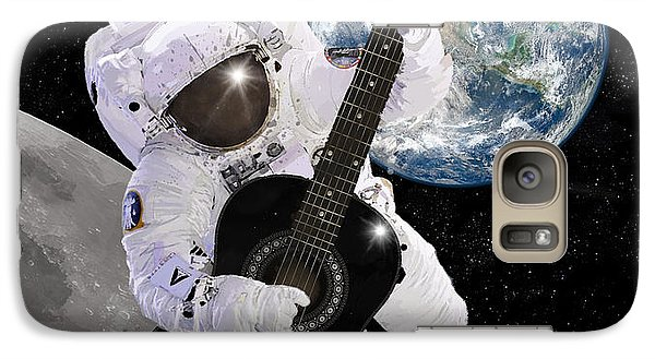 Ground Control To Major Tom Galaxy Case by Nikki Marie Smith