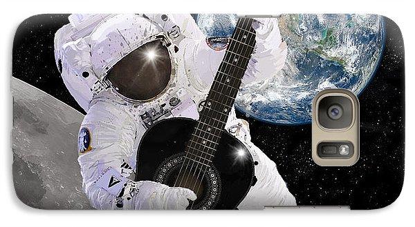 Astronaut Galaxy S7 Case - Ground Control To Major Tom by Nikki Marie Smith