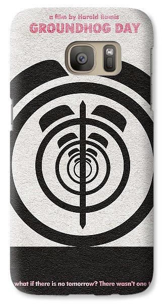 Groundhog Galaxy S7 Case - Groundhog Day by Inspirowl Design