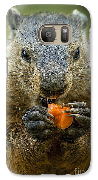 Groundhogs Favorite Snack Galaxy S7 Case