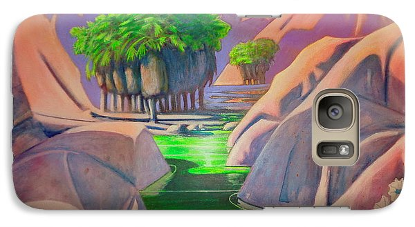 Galaxy Case featuring the painting Grove by Steven Holder