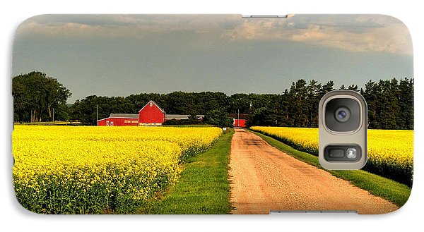 Galaxy Case featuring the photograph Growing For Gold by Larry Trupp