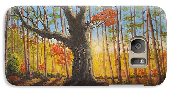Galaxy Case featuring the painting Growing Up by Dan Wagner