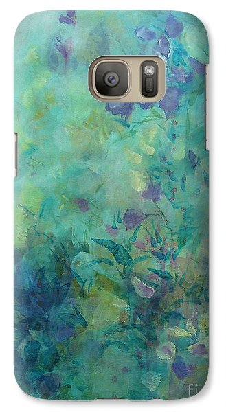 Galaxy Case featuring the painting Growing Wild Ix by Elis Cooke