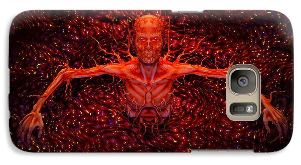 Galaxy Case featuring the digital art Growth by Matt Lindley