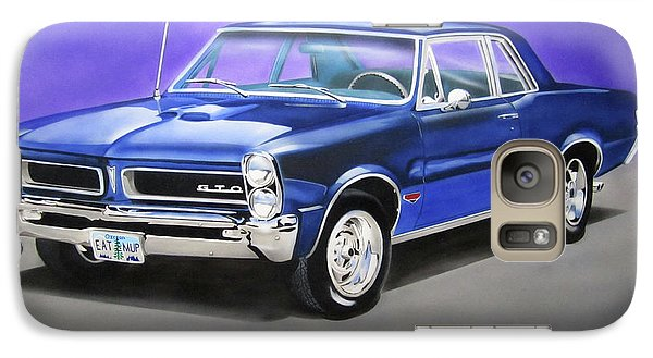 Galaxy Case featuring the painting Gto 1965 by Thomas J Herring
