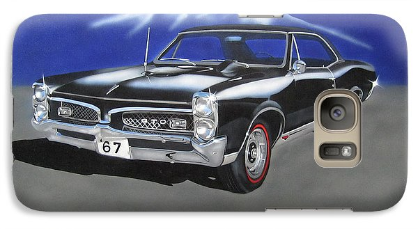 Galaxy Case featuring the painting Gto 1967 by Thomas J Herring