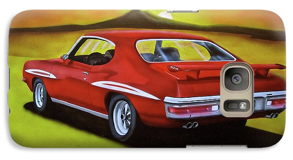 Galaxy Case featuring the painting Gto 1971 by Thomas J Herring
