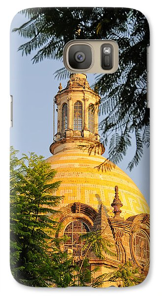 Galaxy Case featuring the photograph The Grand Cathedral Of Guadalajara, Mexico - By Travel Photographer David Perry Lawrence by David Perry Lawrence