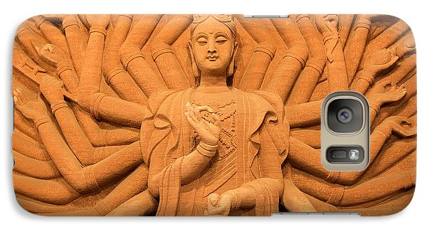 Galaxy Case featuring the photograph Guanyin Bodhisattva by Dean Harte