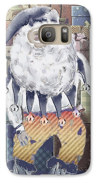 Galaxy Case featuring the digital art Guarding The Gifts by Arline Wagner