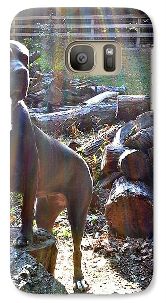 Galaxy Case featuring the photograph Guarding The Kingdom by Carlee Ojeda