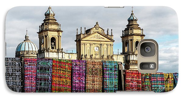 Colours Galaxy S7 Case - Guatemala City Cathedral by Francisco Mendoza Ruiz