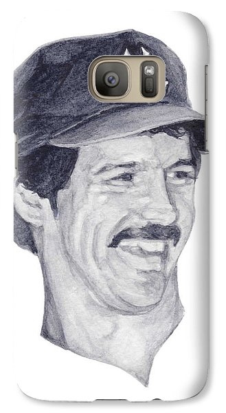 Galaxy Case featuring the painting Guidry by Tamir Barkan