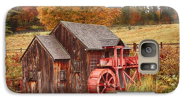 Galaxy Case featuring the photograph Guildhall Grist Mill by Jeff Folger
