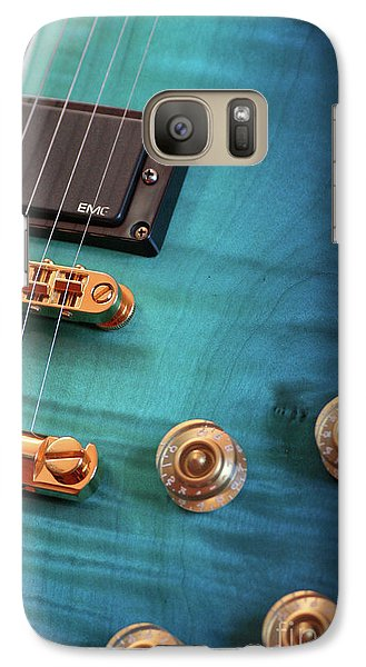 Galaxy Case featuring the photograph Guitar Blues by Joy Watson