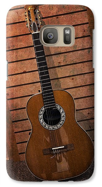 Galaxy Case featuring the photograph Guitar Solo by Terri Harper