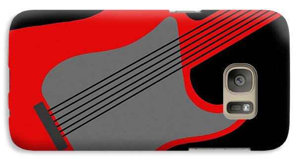 Galaxy Case featuring the digital art Guitarpop I by Andy Heavens