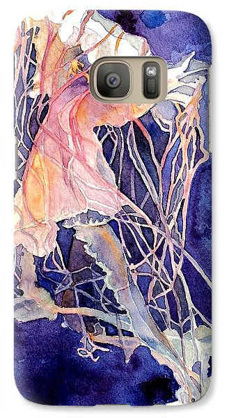 Galaxy Case featuring the painting Gulf Coast Jelly by Jeffrey S Perrine