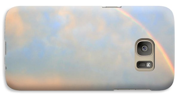 Galaxy Case featuring the photograph Gulf Coast Rainbow by Charlotte Schafer
