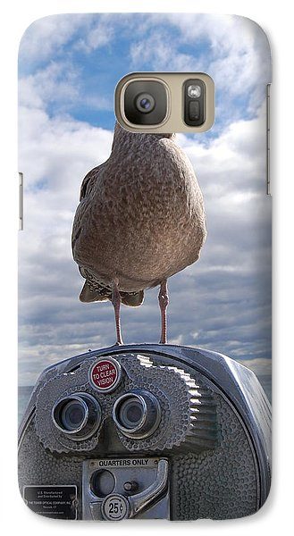 Galaxy Case featuring the photograph Gull by Mim White