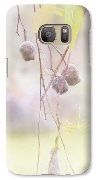 Galaxy Case featuring the photograph Gum Nuts by Elaine Teague