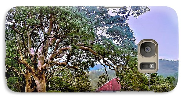 Galaxy Case featuring the photograph Gumtree Gully by Wallaroo Images