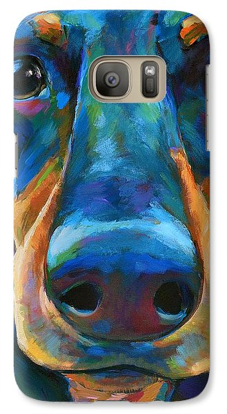 Galaxy Case featuring the painting Gus by Robert Phelps