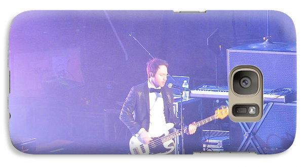 Galaxy Case featuring the photograph Gutair Player For Royal Taylor by Aaron Martens