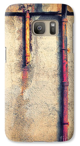 Gutters Galaxy S7 Case by Silvia Ganora