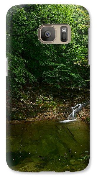 Gyeryongsan Stream And Pool Galaxy S7 Case