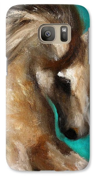 Galaxy Case featuring the painting Gypsy by Barbie Batson