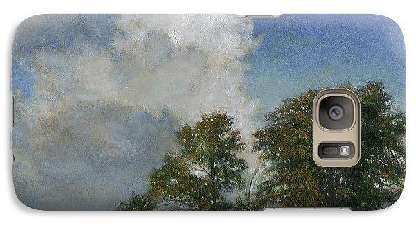 Galaxy Case featuring the painting Gypsy Bay by Wayne Daniels