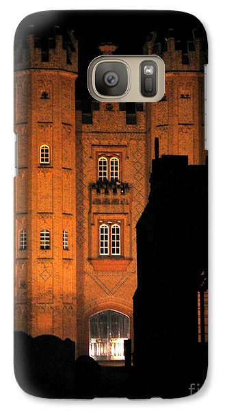 Galaxy Case featuring the photograph Hadleigh Deanery By Night by Linda Prewer