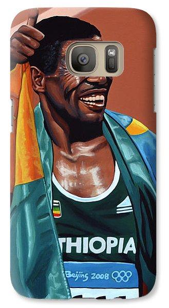 Haile Gebrselassie Galaxy S7 Case by Paul Meijering