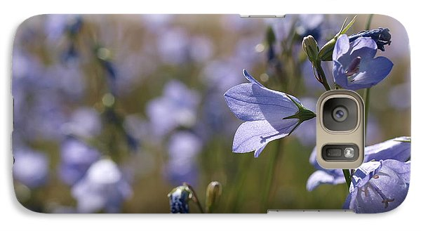 Galaxy Case featuring the photograph Harebells by Jenessa Rahn