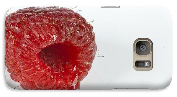 Raspberry Galaxy S7 Case - Hairy Raspberry by John Crothers